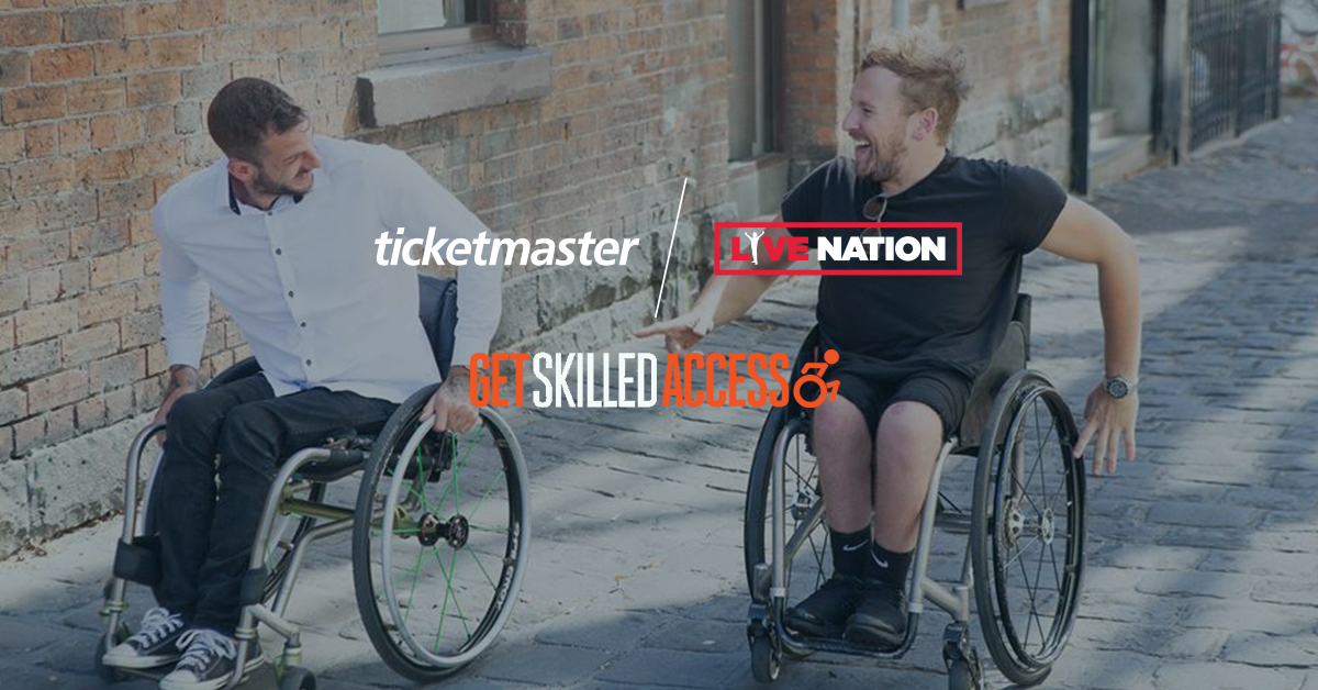 Live Nation and Ticketmaster team up with Dylan Alcott's 'Get Skilled Access'
